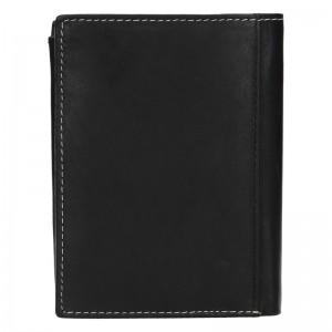 Pánská kožená peněženka Diviley Marco - černá