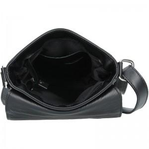 Pánská kožená taška Delami Matteo - černá