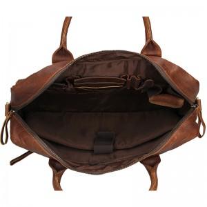 Pánská kožená taška SendiDesign Dante - hnědá
