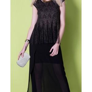 Dámské krajkové psaníčko LS Fashion Emily - bílá
