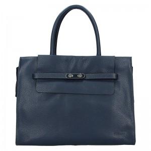 Elegantní dámská kožená kabelka Katana Aurora - krémová