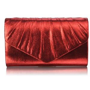 Dámské psaníčko LS Fashion Lucy - červená