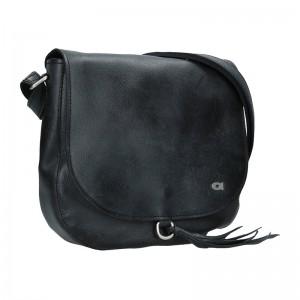 Luxusní dámské kožené crossbody Daag Elisn - černá