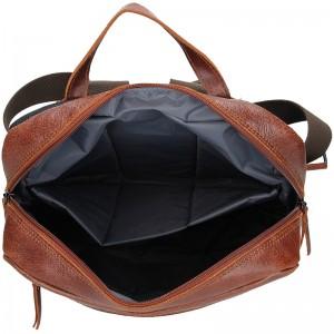 Pánský kožený batoh Daag Sanco - hnědá