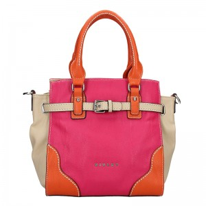 Dámská kabelka Sisley Cristina - růžová