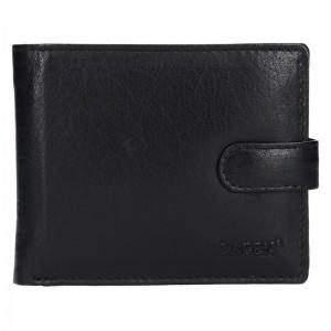 Pánská kožená peněženka Lagen Ivan - černá