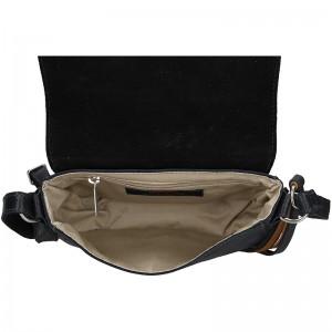 Luxusní dámské kožené crossbody Daag Annie - černá