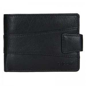 Pánská kožená peněženka Lagen Kevin - černá