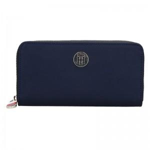 Dámská peněženka Tommy Hilfiger Ritta - modrá