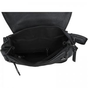 Moderní dámský batoh Enrico Benetti Alexa - černá