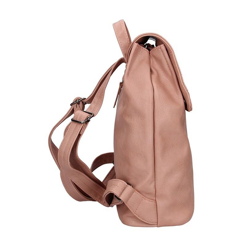 Moderní dámský batoh Enrico Benetti Alexa - růžové