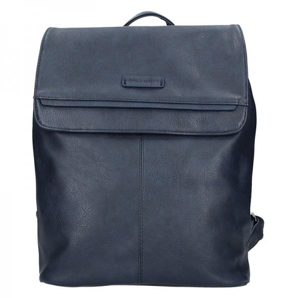 Moderní dámský batoh Enrico Benetti Alexa - modrá