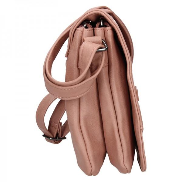 Dámská crossbody kabelka Enrico Benetti Miriamm - růžová