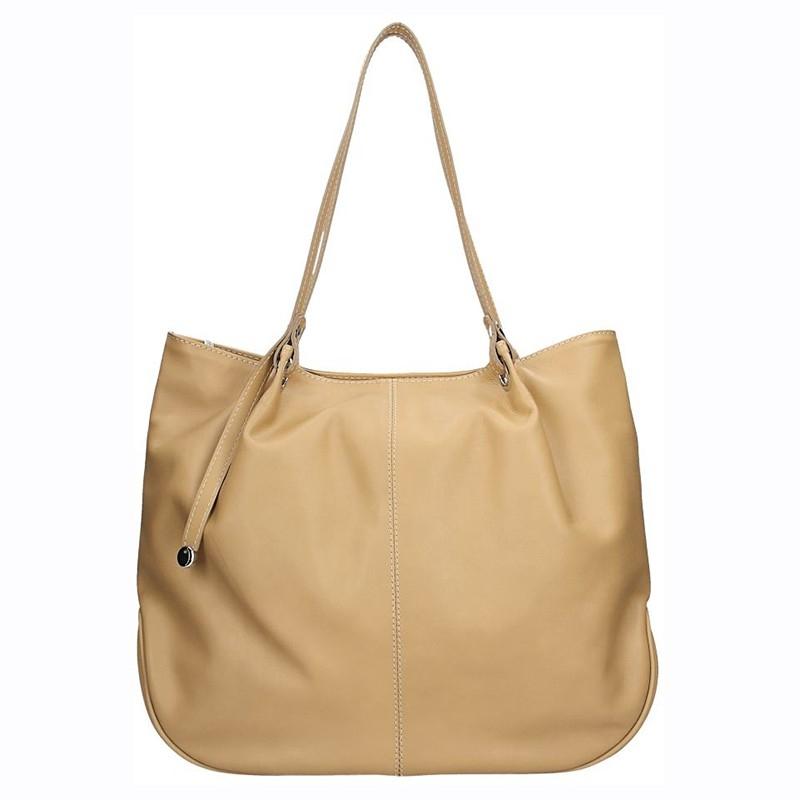 223af39f2e Dámská kožená kabelka Facebag Sandra - hnědá