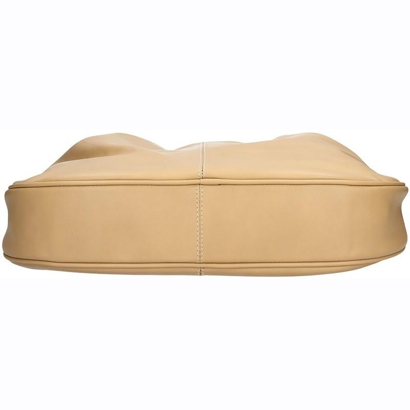 Dámská kožená kabelka Facebag Sandra - hnědá
