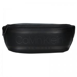Pánská ledvinka Calvin Klein David - černá