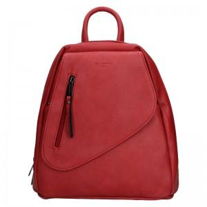 Dámský batoh Hexagona Liliam - červená