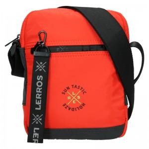 Pánská taška přes rameno Lerros Nerro - oranžová