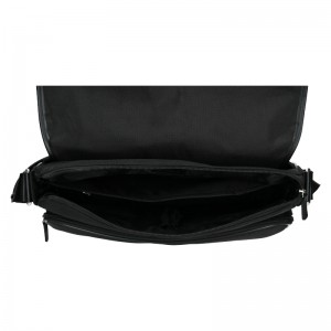 Pánská taška přes rameno Hexagona Galeo - černá