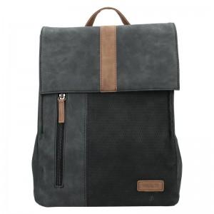Moderní dámský batoh Beagles Nicol - černá