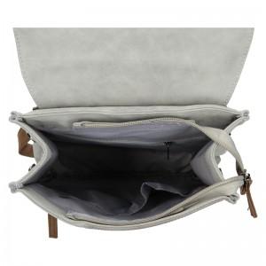 Moderní dámský batoh Beagles Nicol - šedá