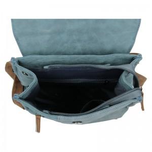 Moderní dámský batoh Beagles Nicol - modrá