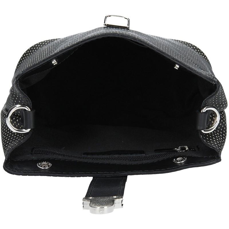 Dámské kožené crossbody Facebag Oliana - černá