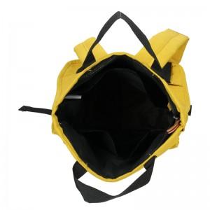 Trendy batoh New Rebels Fly - žlutá