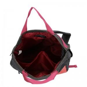 Trendy batoh New Rebels Fly - černo-růžová