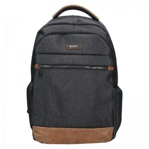 Moderní pánský batoh Enrico Benetti Radim - černo-šedá