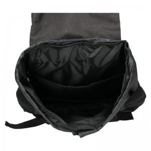 Velký trendy batoh New Rebels Etien - černá