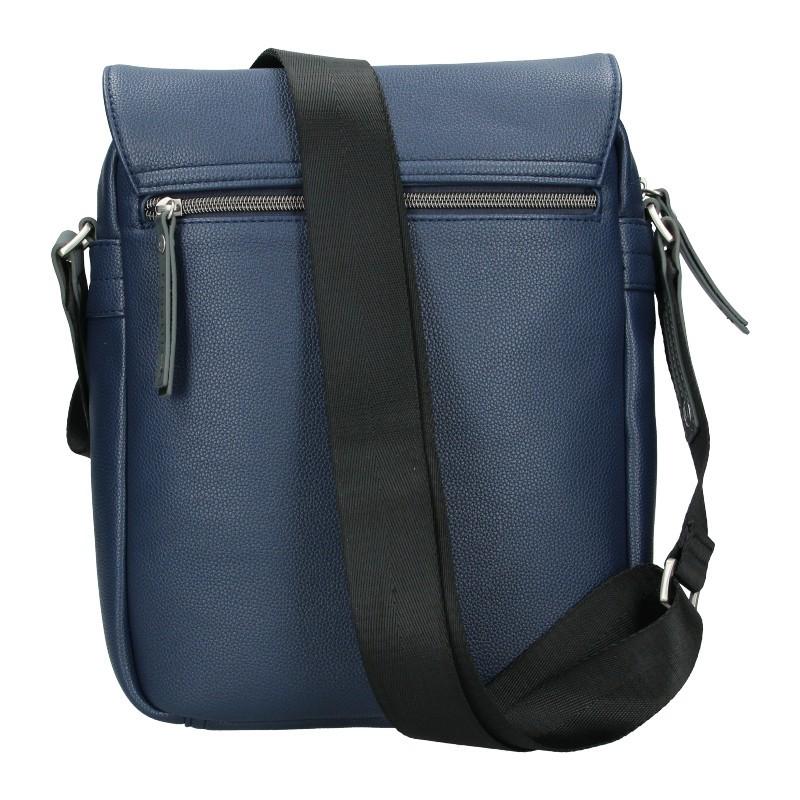 Pánská taška přes rameno Bugatti Moto S - modrá
