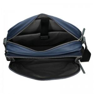 Pánská taška přes rameno Bugatti Merro - tmavě modrá