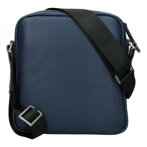 Pánská taška přes rameno Bugatti Moto - tmavě modrá