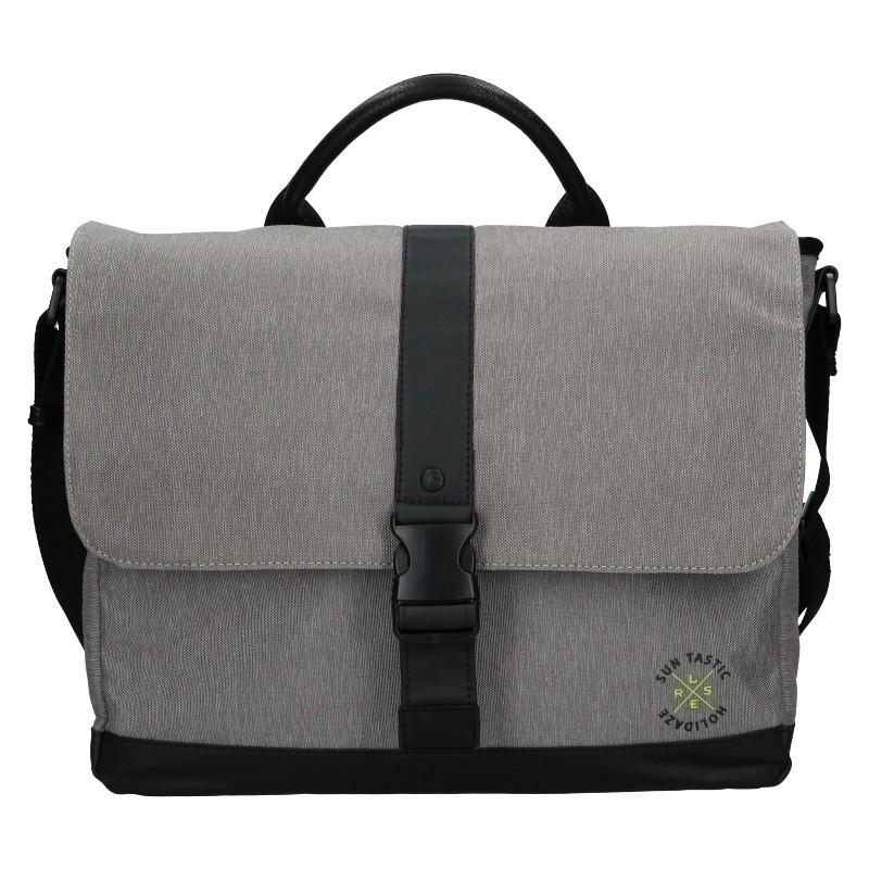 Pánská taška přes rameno Lerros Leon - šedá