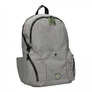 Pánský trendy batoh Lerros Ferry - šedá