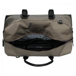 Pánská cestovní taška Lerros Michael - béžovo-černá