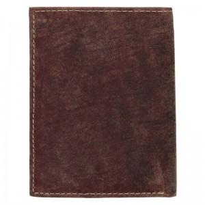 Pánská kožená peněženka Wild Buffalo Tomas - koňak