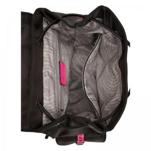 Dámský batoh Suri Frey Labil - černo-růžová