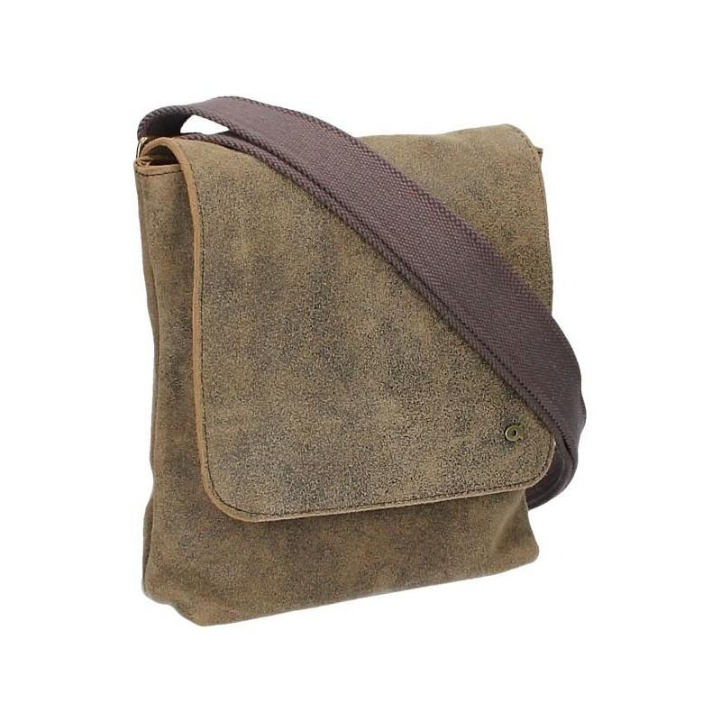 Pánská taška Daag Risk 134 - hnědo-zelená