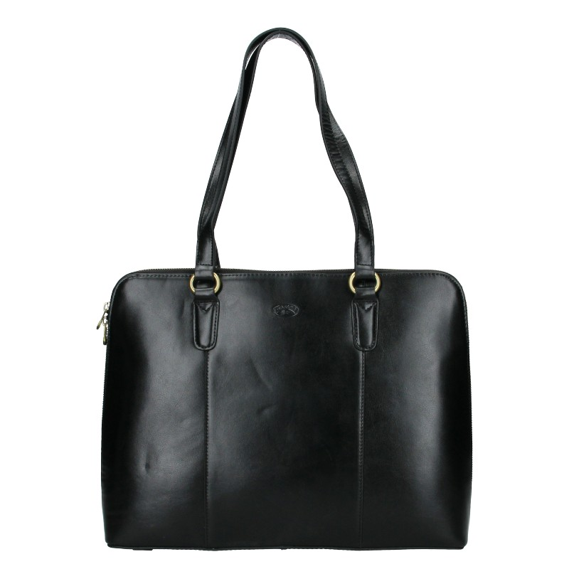 Elegantní dámská kožená kabelka Katana Apolens - černá
