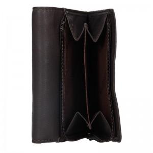 Dámská kožená peněženka Lagen Leonas - hnědá
