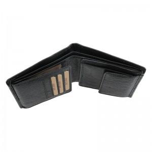 Pánská kožená peněženka Lagen Magnusen - černá