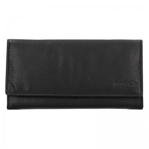 Dámská kožená peněženka Lagen Argenta - černá