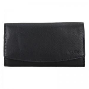 Dámská kožená peněženka Lagen Ninnas - černá