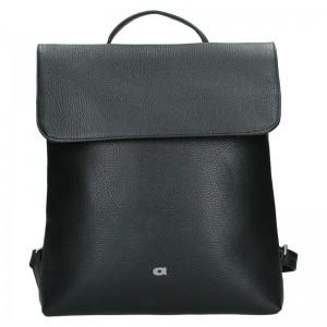 Dámský kožený batoh Daag Mikaela - černá