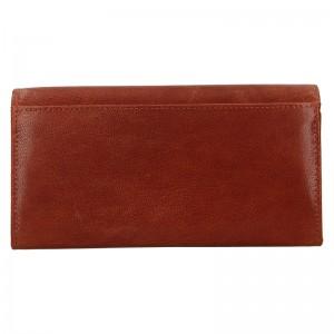 Dámská kožená peněženka DD Anekta Verona - hnědá