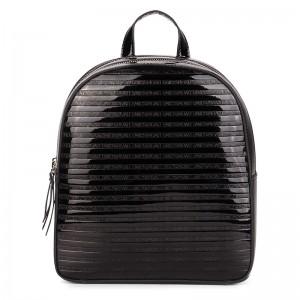 Elegantní dámský batoh Emily & Noah Leslie - černá