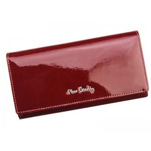 Dámská kožená peněženka Pierre Cardin Alenas - tmavě červená