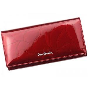 Dámská kožená peněženka Pierre Cardin Mielna - červená